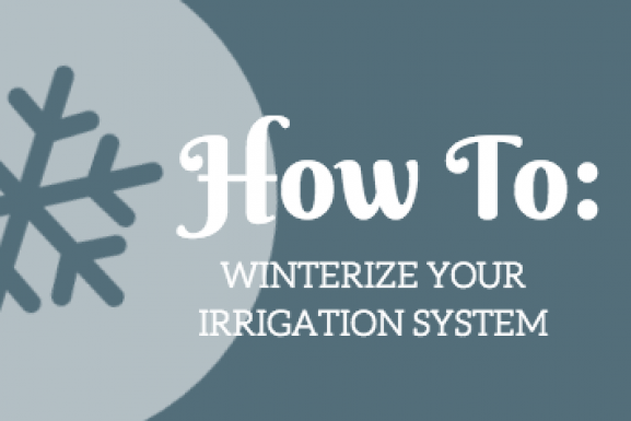 How To: Winterize Your Irrigation System