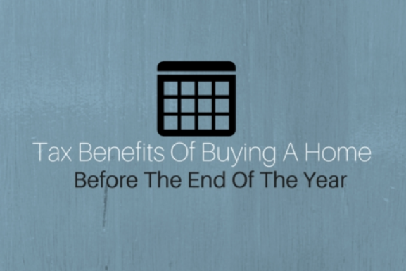 Tax Benefits Of Buying A Home Before The New Year