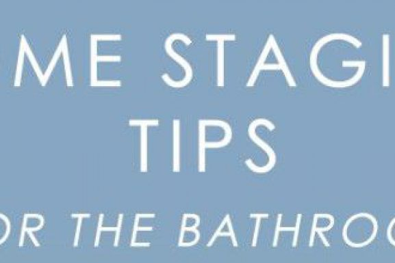 How To Stage a McCall Bathroom