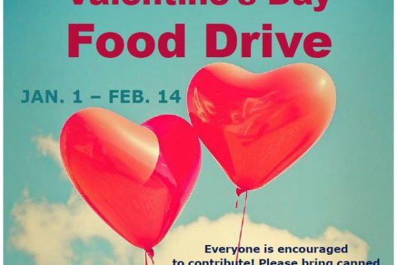 Valentine's Day Food Drive